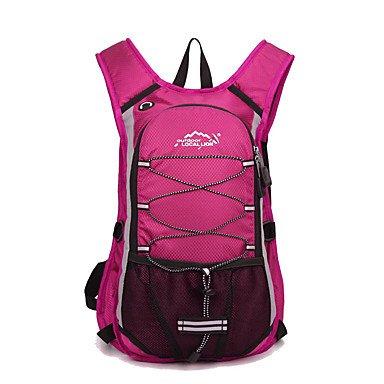 15 L Rucksack Camping & Wandern Reisen tragbar Atmungsaktiv Feuchtigkeitsundurchlässig blushing pink