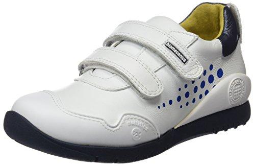 Biomecanics 151180, Zapatillas Infantil, Blanco y Azul, 28 EU