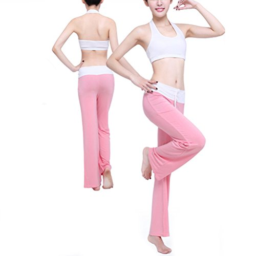 Zhhlaixing Elegant Womens Three-piece Sportswear Multi-style Fitness Athletic Yoga Set pink
