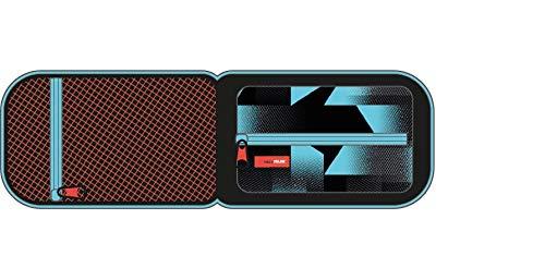 MILAN Kit Un Estuche con Contenido Fusion Estuches, 19 cm, Azul
