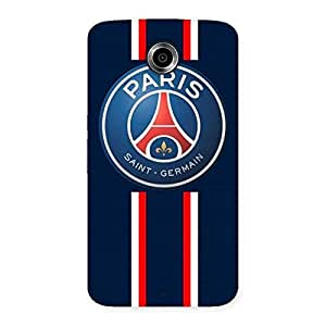Stylish Paris Bar Back Case Cover for Nexsus 6