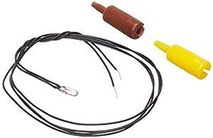 Faller 180671 Micro Bombilla Cable, Claro