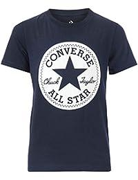 aec09cf652ef Converse T-Shirt Chuck Taylor Bleu Marine Garçon