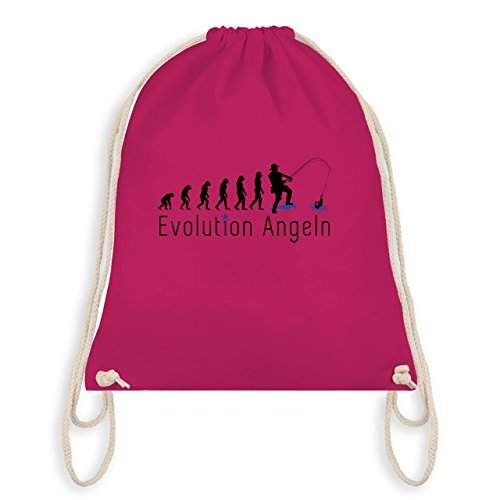 Evolution - Angler Evolution - Unisize - Fuchsia - WM110 - Turnbeutel I Gym Bag