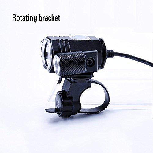 RUIX Fahrradlicht T6 Highlight Scheinwerfer Lade LED Lampe Reitausrüstung,A