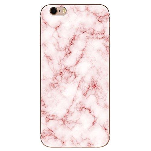 IPHONE 6 6s Hülle Marmor Mandala TPU Silikon Schutzhülle Handyhülle Case - Klar Transparent Durchsichtig Clear Case für iPhone 6/6s Schutz Hülle dls7