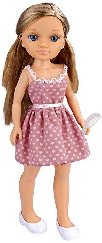 Nancy - Muñeca Un día con Amigas, rubia con vestido rosa (Famosa 700013444)