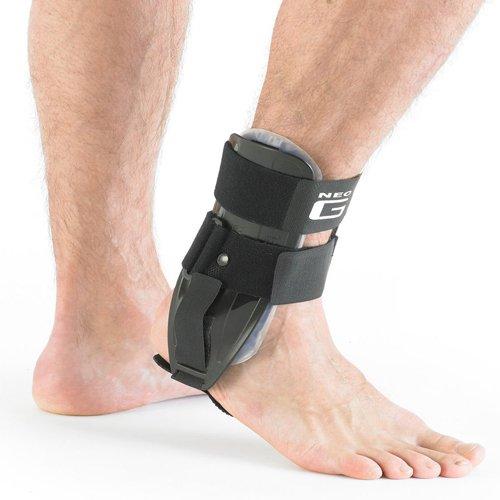 Neo-G-Tutore per caviglia destra, con 2inserti in gel rimovibili, per lo sport e la ginnastica