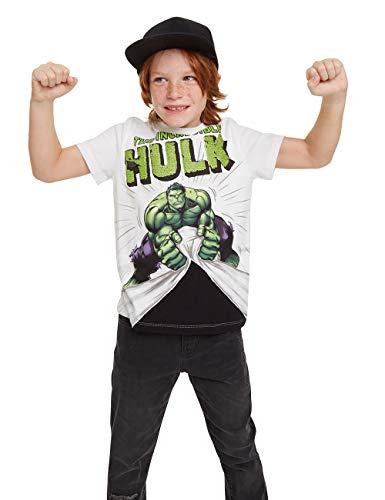 Desigual Jungen Freddie T-Shirt, Weiß (Blanco 1000), 116 (Herstellergröße: 5/6)