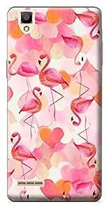 Mott2 Back Case for Oppo F1   Oppo F1Back Cover   Oppo F1 Back Case - Printed Designer Hard Plastic Case - pink theme