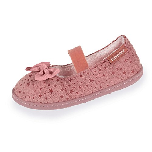 Isotoner Chaussons Ballerines Fille étoiles Rayures