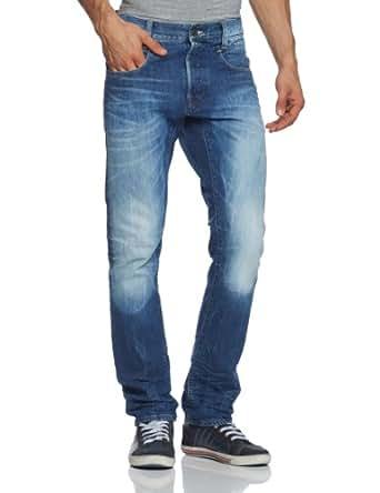 G-star - jean - slim - used - homme - bleu (medium aged) - W26/L30