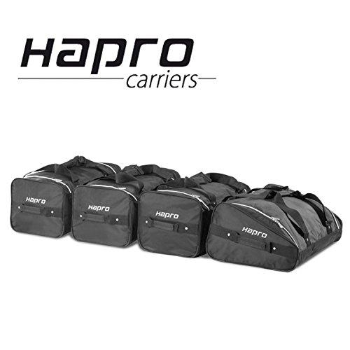 Hapro 5103030Reisetaschen 4Stück, Schwarz