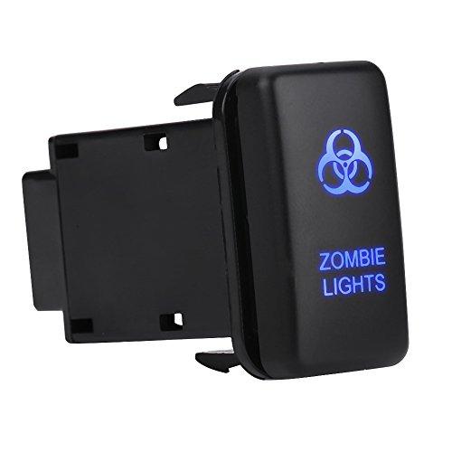 Interruptor basculante del coche Interruptor de luz LED de encendido / apagado...