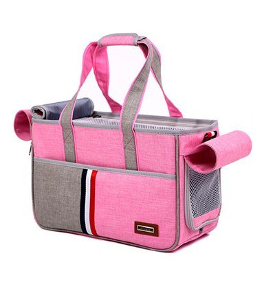 BENWEI Classics Pet Carrier,Portable Dog Cat Handbag Outdoor Soft Sided Pet Shoulder Bag Foldable Travel Tote,Under Seat… 2