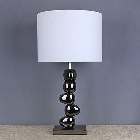 CNMKLM ferro battuto lampada da tavolo illuminazione decorativa camera da letto comodino,con il migliore