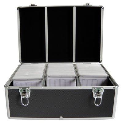 MediaRange BOX73 Koffer 500 CD/DVDs schwarz