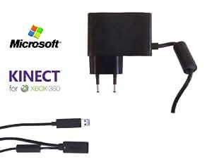 Chargeur Secteur pour Kinect Sensor OFFICIEL MICROSOFT - UE (OEM) pour toutes les XBOX 360 !
