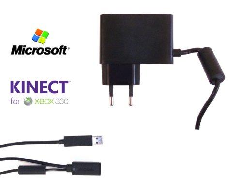 Official Microsoft Xbox 360 Kinect Stromzuführung / Netzteil Kabel (OEM)