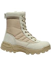 Stivali Scarpe e borse Stivali Da Uomo Inverno Caldo Martin Stivali Da Neve Stivali Militari Stivali Lunghi Stivali Da Combattimento Nel Deserto Escursionismo AllAperto