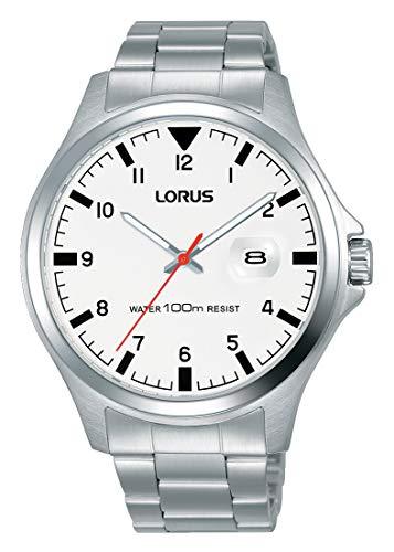Lorus Hommes Analogique Quartz Montre avec Bracelet en Acier Inoxydable RH965KX9