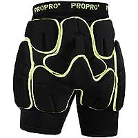 ZYSMC Esquí Pañal Patinaje Patines Pañales De Protección Multi-Función Pantalones Anti-Caída De Esquí Equipo De Protección,XL