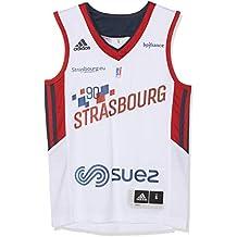 Sig Estrasburg Domicile 2018-2019 - Camiseta de Baloncesto para niño, Niño, Color