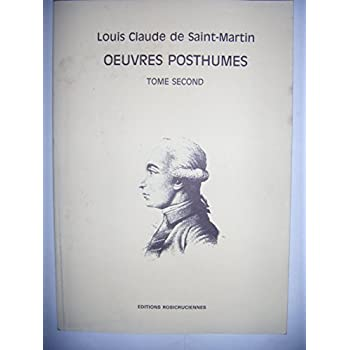 LES OEUVRES POSTHUMES. Tome 2