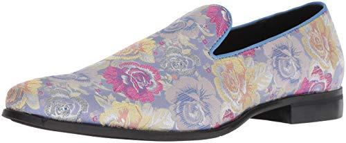 Stacy Adams Herren Swank Brocade Print Slip-On, Lavendel, 46 EU -