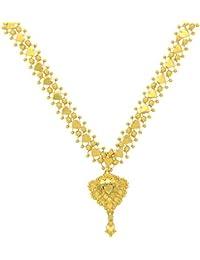 Popleys 22k (916) Yellow Gold Multi-Strand Necklace