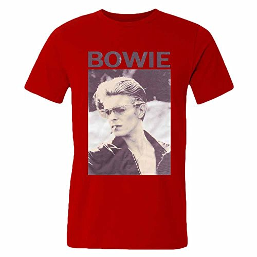 Mens David Bowie Smoking T-Shirt S