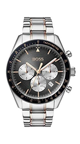 hugo boss watch mens chronograph quartz watch with stainless steel strap 1513634