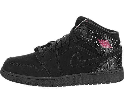 quality design ca309 5aefb Nike Air Jordan 1 Mid (GS), Scarpe da Fitness Donna, Multicolore Rush