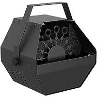 Machine à bulles, Machine à bulles Fansteck à haut débit avec un mécanisme de soufflage automatique et moteur silencieux, appuyez sur un bouton afin de faire des milliers de bulles pour des représentations ou des soirées, facile à nettoyer - noir