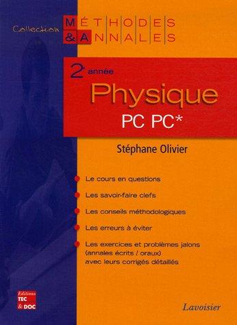 Physique 2e année PC*-PC