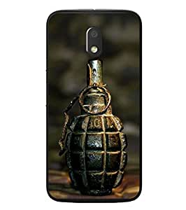 Fuson Designer Phone Back Case Cover Motorola Moto E3 :: Motorola Moto E (3rd Gen) ( Unopened Grenade )