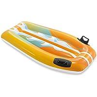 ZQYR# Baby Natación Piscina formación Deportes acuáticos fácil Grip Float Junta Entrenamiento de Natación/Learner Apto, PVC - 112x62cm