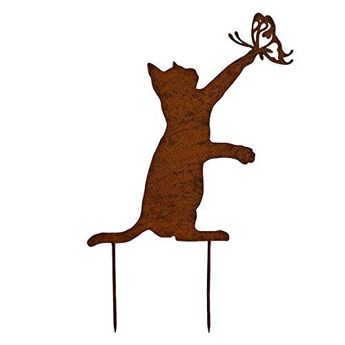 Die große Prairie Silhouette Katze 45x 30cm -