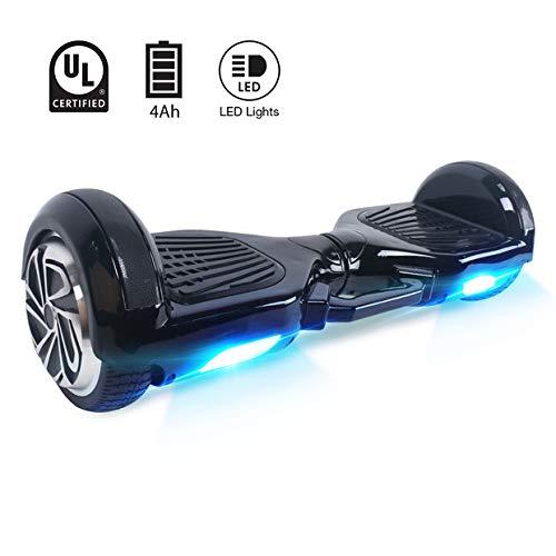 BEBK Hoverboard 6.5' Smart Self Balance Scooter Autobilanciato Skateboard con 2 * 350W Motore, LED, Monopattino Elettrico
