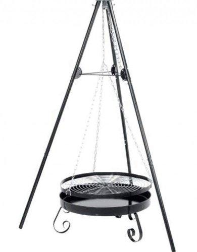 GRILL 65cm SCHWENKGRILL HÖHE: 180cm TÜV/GS STABIL GRILLEN SCHWENKER DREIBEIN