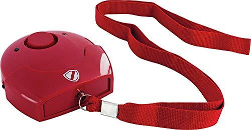 SCHWAIGER -5620- SOS Notfall-Alarm/Panik-Alarm Schlüsselanhänger/Taschen-Alarm für...