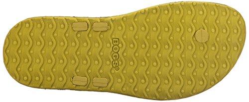 Bogs Mens Dylan Sandal Chartreuse/Multi