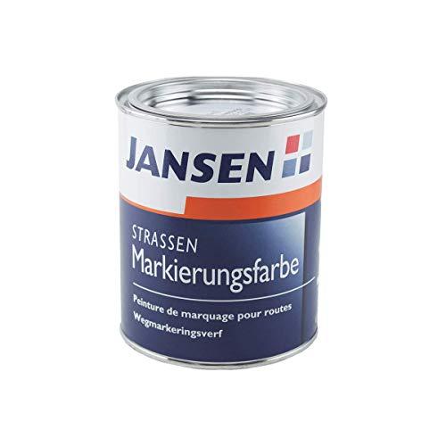 Jansen Straßenmarkierungsfarbe 750ml Farbton weiß