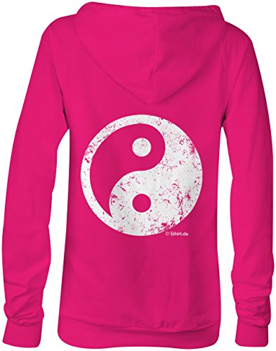 Ying Yang ★ Confortable veste pour femmes ★ imprimé de haute qualité et slogan amusant ★ Le cadeau parfait en toute occasion pink