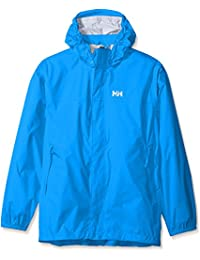 Helly Hansen JR Loke Packable Jacket - Chaqueta para niños, color azul, talla 140/10