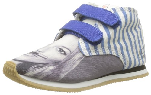 Eleven Paris  Little Run Kate,  Sneaker unisex bambino, Blu (Blue - Blau - Bleu (Blue)), 28
