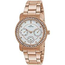 Maxima Analog White Dial Women's Watch-O-52950CMLR