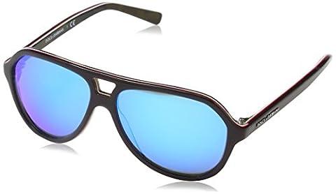 Dolce & Gabbana DG4201 Sunglasses, Black (Black/Red 299125), One Size