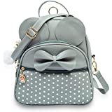 Shopyvid Polka Dots Small Mini Convertible Backpack for Girls 10 L