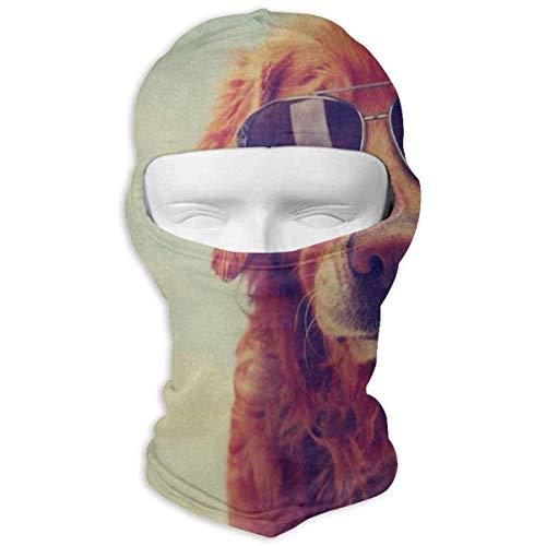 Hoklcvd Balaclava Vintage Clip Art Full Face Masks Motorcycle Neck Hood Design19 -